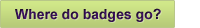 Where do badges go?